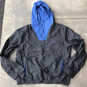 Vintage Puma Anorak windbreaker jacket xl